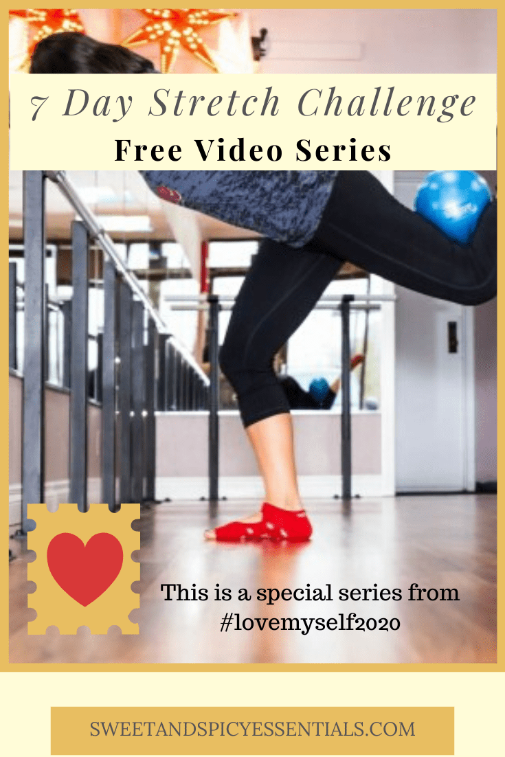 7 Day Stretch Challenge - free youtube series